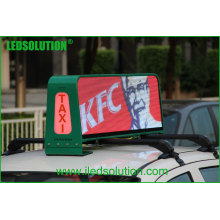 LEDSOLUTION P5 High Brightness 3G Taxi Pantalla LED superior