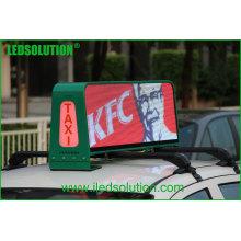 LEDSOLUTION P5 Alto Brilho 3G Táxi Topo LED