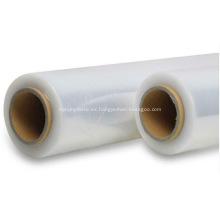 Película plástica retráctil transparente para embalaje