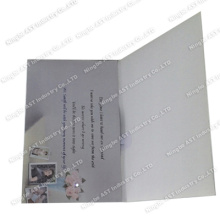 Cartes d'invitation S-1110, carte d'invitation avec LED, carte postale enregistrable avec LED