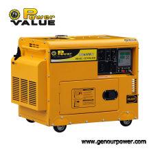 Générateurs diesel silencieux ultra de la valeur 3kVA 220V, générateur sain de preuve pour l'usage à la maison