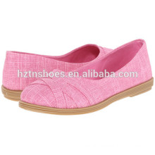 2016 New Model Ladies Rubber Sole Canvas Shoes