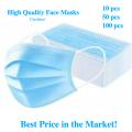 FDA CE Одноразовая маска для лица 3Ply Masks