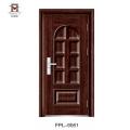 Nouveau produit de vente chaud en acier porte simple porte principale porte découpant des conceptions