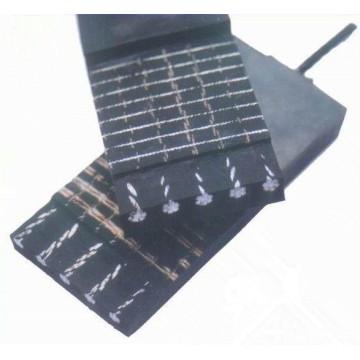 Banda transportadora de goma resistente a la rotura de cable de acero