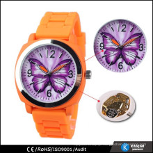 Fashion watch silicone wristwatch hot sales watch