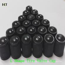 """Tapa de las válvulas del neumático del coche Tapa de plástico universal K-L01 de la rueda del coche """"Shape"""""""