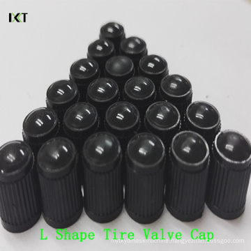 "Car Tire Valves Cap PP Plastic Universal Car Wheel Shape ""L"" Plastic Cap Kxt-L08"