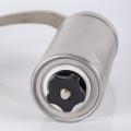 Molinillo de café manual de acero inoxidable con manivela