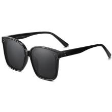 2020 new arrivals polarized sunglasses women rivet aesthetic vintage oval shades plastic sun glasses women 2233