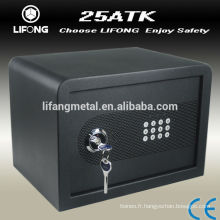 2015 Promotion sales of LATEST security electronic samll safe,cash box for home use