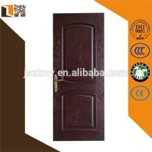 Alta avaliação ambiente amigável simples portas de madeira maciça