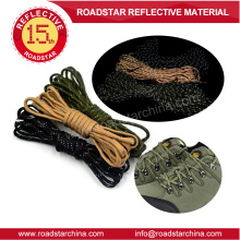 New arrival durable reflective lanyard for shoelace