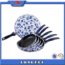 China Estilo Color Brilliancy Almacenar Fry Pan