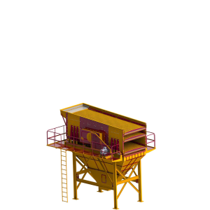 Linear  Motion Vibrating Screen Machine