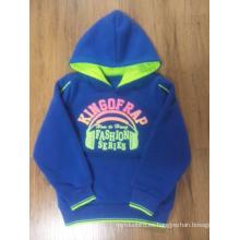 Sudadera 100% poliéster niña con capucha para el invierno (WGS003)
