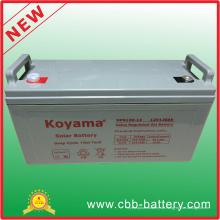 Tiefe Zyklus-Gel-Solarbatterie 12V 120ah für Sonnensystem
