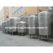 Réservoir de stockage de carburant de l'eau en acier inoxydable Asme pratique