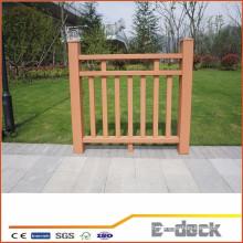 Balcon de sécurité étanche extérieur wpc clôture
