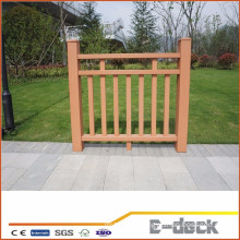 Outdoor waterproof security balcony wpc fence