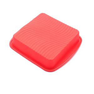 Square Mold For Birthday Cakes Silicone Baking Pan