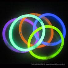 pulseira de brilho de tubo