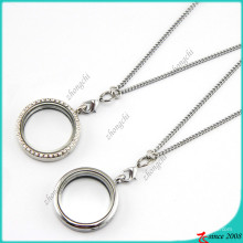 Hot Selling Silver Round Floating Charms Locket (FL16040824)