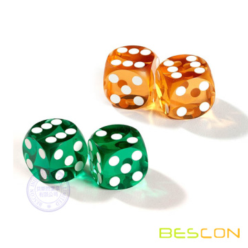High Quality Professional Precision Round Casino Dice 16MM