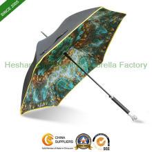 Luxus-Mode-Regenschirme mit drei Schicht Stoff (SU-0623SF)