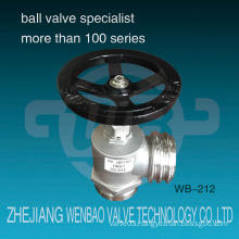 Wb-212 Wenbao New Product Stainless Steel Fire Hydrant Valve Hvqrtrg Dn65 Ss304