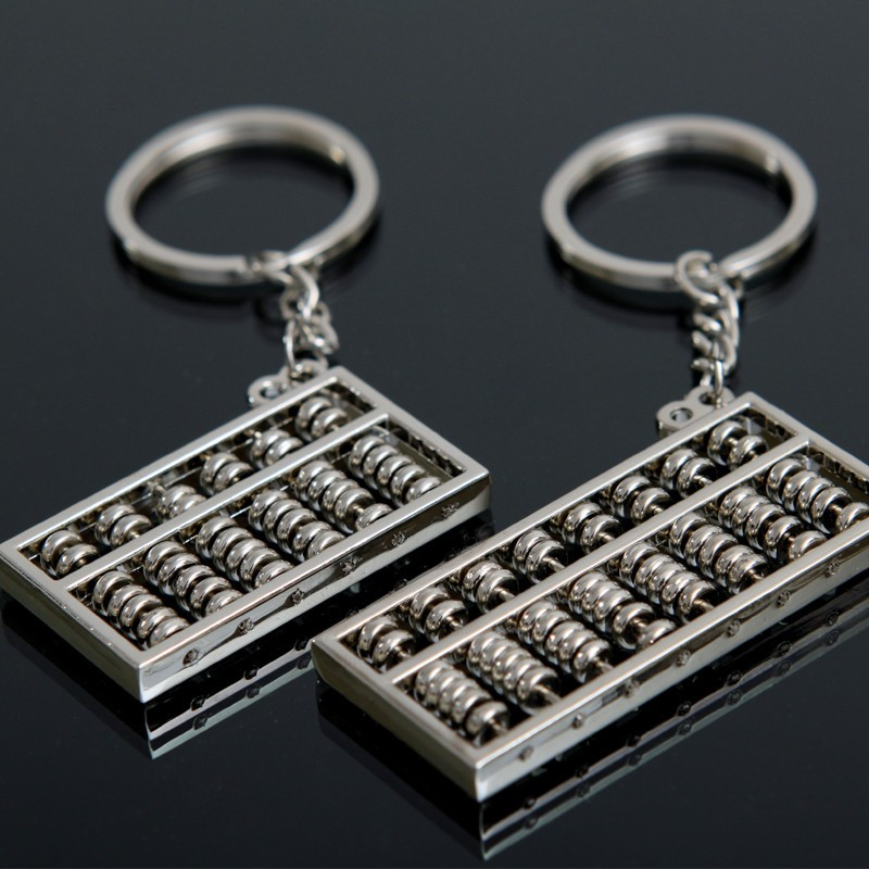 Keyring abacus model key chain