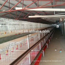 Jaula de pollo de engorde (ISO9001) para granja de aves de corral