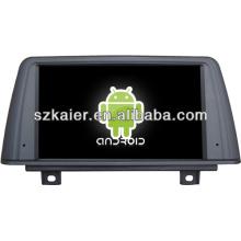 Android System Auto DVD-Player für NEW BMW3 mit GPS, Bluetooth, 3G, iPod, Spiele, Dual Zone, Lenkradsteuerung