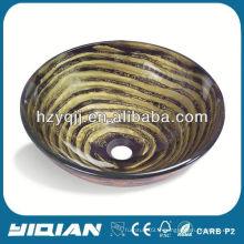 Le plus récent Hangzhou Yiqian en verre tempéré Round Bowl