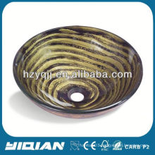 Newest Hangzhou Yiqian Tempered Glass Round Bowl