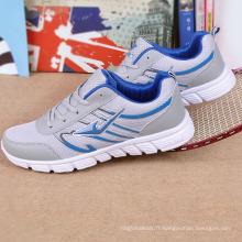 Les ventes chaudes! 2015 nouveau style de mode sport chaussures de course de couleur vive chaussures de course légères pour hommes