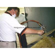 Pistola de pulverização de gel coat e máquina