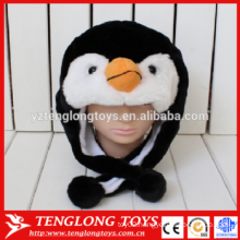 warm funny plush kids winter animal hats