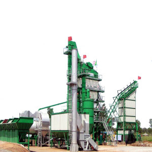 LB1000 Asphalt Mixing Plant With Road Design