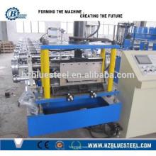 Plein Automatique Bonne qualité PLC Industriel Self Lock Machine de fabrication de feuilles de toit en galvanisation à vendre