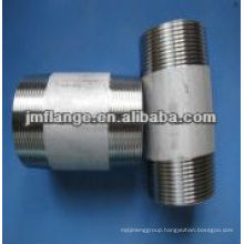 304/316 stainless steel fittings and valve fittings barrel nipple