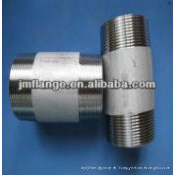 304/316 Edelstahl-Armaturen und Ventilverschraubungen Fassnippel