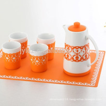 silicone tea set with high quality