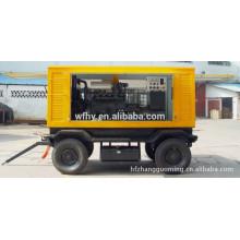 Generador de 21.3KVA 60HZ con cuatro ruedas
