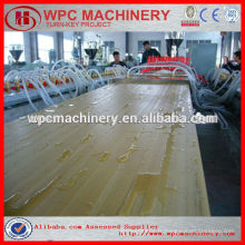 Composant plastique en bois wpc door machine / WPC board production line / wpc decking machine / wpc machine