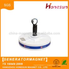 Générateur à aimant permanent flux Axial Coreless produits chauds