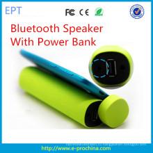 Новая модная форма цилиндр Банк питания Bluetooth-динамик (EG001)