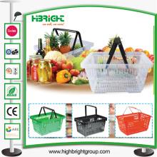 Kunststoff-Einkaufskorb mit Griffen