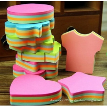 Customized Different Shape Cute Sticky Notes