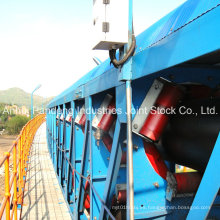 Overland DIN / Cema / ASTM / Sha Sistemas de cinta transportadora de tubería estándar / Equipo transportador de tubería